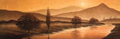 Sunrise Landscape II-Steve Bridger-Art Print
