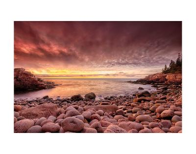 Sunrise, Monument Cove-Michael Hudson-Art Print