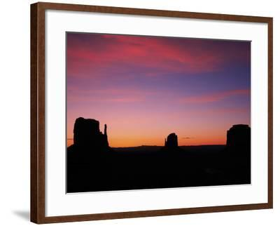 Sunrise, Monument Valley, Arizona, USA-Michel Hersen-Framed Photographic Print