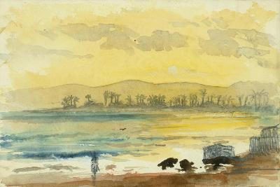 Sunrise Near Haifa, 1872-Claude Conder-Giclee Print