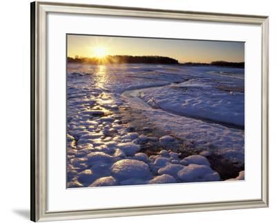 Sunrise, New Hampshire, USA-Jerry & Marcy Monkman-Framed Photographic Print