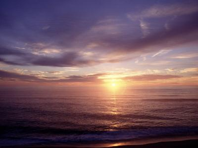 Sunrise on Nuset Beach, Cape Cod, MA-John Greim-Photographic Print