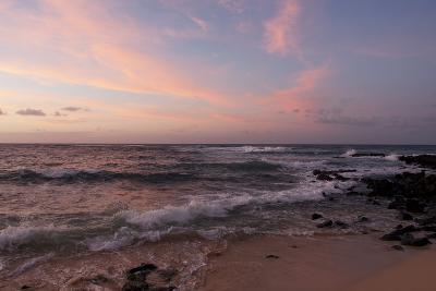 Sunrise on the Beach at Poipu Beach-Marc Moritsch-Photographic Print