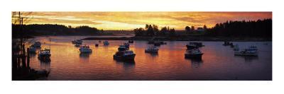 Sunrise on the Fleet-Doug Landreth-Premium Giclee Print