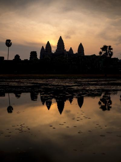 Sunrise over Angkor Wat-Ben Pipe-Photographic Print