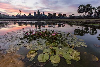 Sunrise over Angkor Wat-Michael Nolan-Photographic Print
