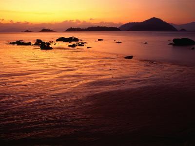 Sunrise Over Laem Son National Park, Ko Kam Yai, Ranong, Thailand-Rob Blakers-Photographic Print