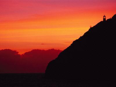 Sunrise over Makapuu Beach and Makapuu Lighthouse-Richard Nowitz-Photographic Print
