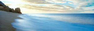 Sunrise over Pacific Ocean, Lands End, Cabo San Lucas, Baja California Sur, Mexico