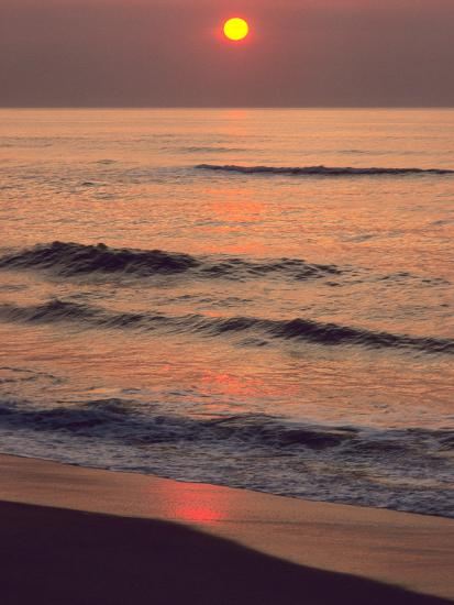 Sunrise over the Atlantic Ocean at Assateague Island-Bates Littlehales-Photographic Print