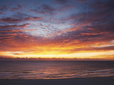 Sunrise over the Atlantic Ocean in Miami Beach, Florida, United States of America, North America-Angelo Cavalli-Photographic Print