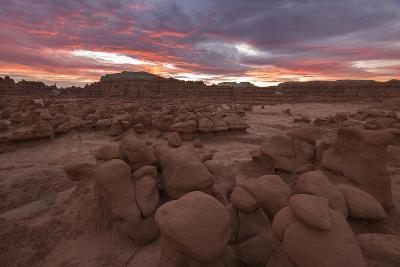 Sunrise Over The Goblins In Goblin Valley State Park, Utah-Austin Cronnelly-Photographic Print