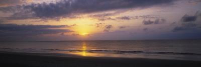 Sunrise over the Ocean, Jekyll Island, Georgia, USA--Photographic Print