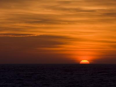 Sunrise over the Sea of Cortez-Ralph Lee Hopkins-Photographic Print