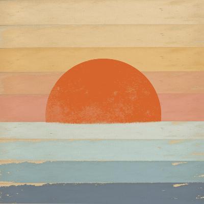 Sunrise over the Sea-Tammy Kushnir-Giclee Print