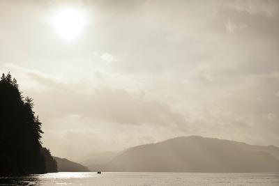 Sunrise Rays Above the Inian Islands-Ralph Lee Hopkins-Photographic Print
