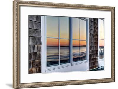Sunrise Reflection 26-dbriyul-Framed Photographic Print