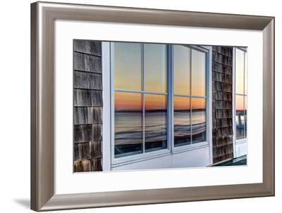 Sunrise Reflection 26-dbriyul-Framed Photographic Print