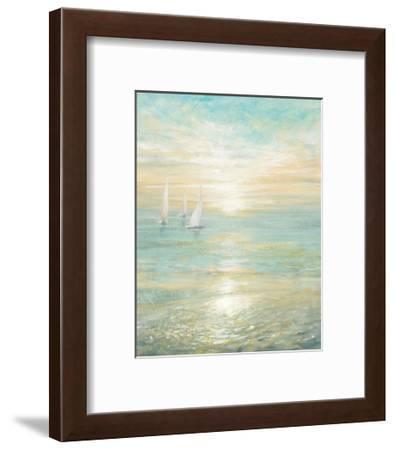 Sunrise Sailboats I-Danhui Nai-Framed Art Print