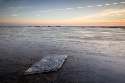 Sunrise, Saltwick Bay, Yorkshire, England, United Kingdom, Europe-Bill Ward-Photographic Print