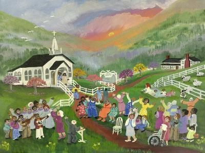 Sunrise Service-Carol Salas-Giclee Print