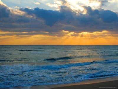 Sunrise, Silver Sands, Canaveral National Seashore, Florida-Lisa S^ Engelbrecht-Photographic Print