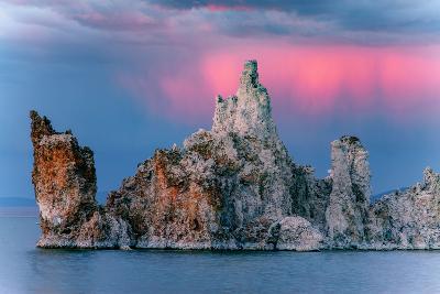 Sunrise Storm Mono Lake, Eastern Sierras, California-Vincent James-Photographic Print