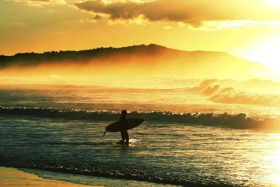 Sunrise Surf-Incredi-Photographic Print
