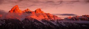 Sunrise, Teton Range, Grand Teton National Park, Wyoming, USA