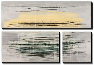 Sunrise Tracks-Drew Sims-Canvas Art Set
