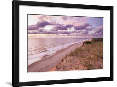 Sunrise View from the Marconi Station Site , Wellfleet, Massachusetts-Jerry and Marcy Monkman-Framed Photographic Print