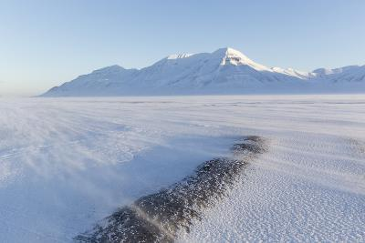 Sunrise View Towards Hiorthfjellet Mountain-Stephen Studd-Photographic Print
