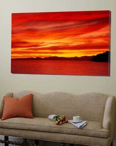 Sunrise, Water, Mulege, Baja, California, Mexico, United States--Loft Art