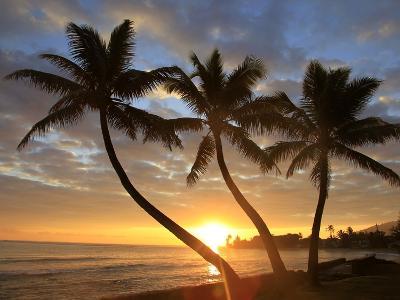 Sunrise, Windward Oahu, Hawaii-Douglas Peebles-Photographic Print