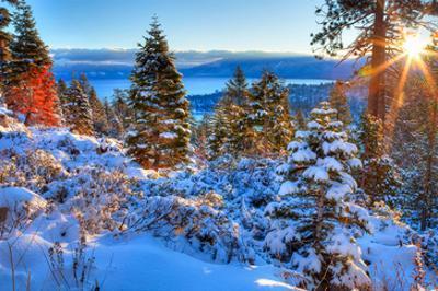 Sunrises Over Lake Tahoe CA