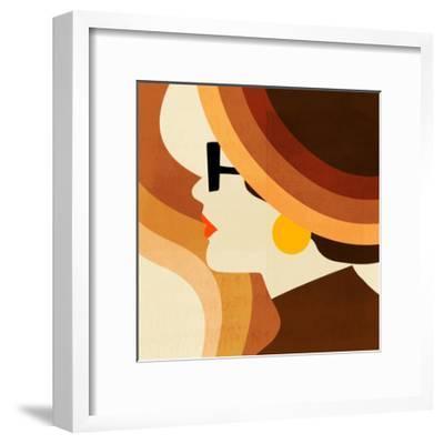Sunseeker Portrait I-Victoria Borges-Framed Premium Giclee Print