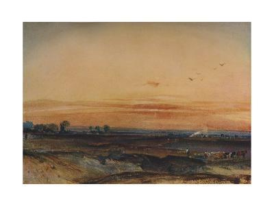Sunset, 1826-Richard Parkes Bonington-Giclee Print