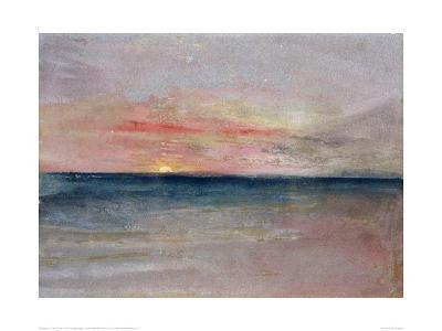 Sunset, 1851-J^ M^ W^ Turner-Giclee Print