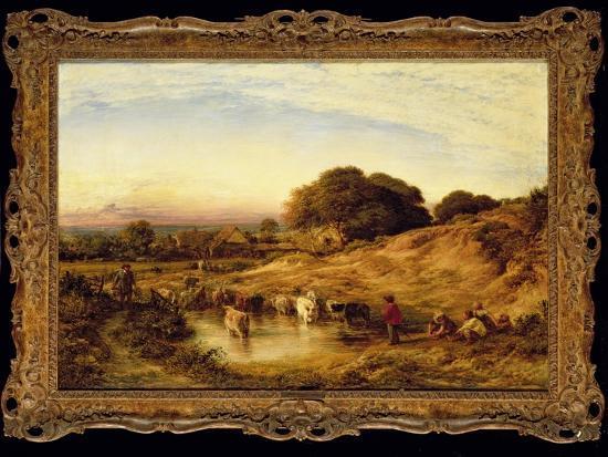 Sunset, 1860-John Linnell-Giclee Print