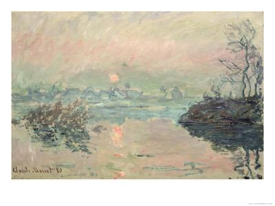 Sunset, 1880-Claude Monet-Giclee Print