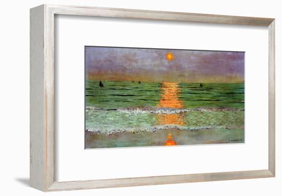 Sunset, 1913-F?lix Vallotton-Framed Giclee Print