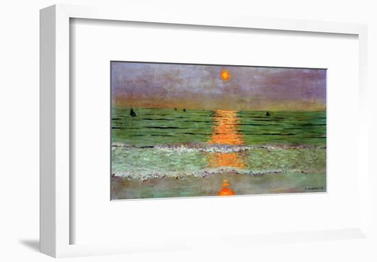 Sunset, 1913-Félix Vallotton-Framed Giclee Print