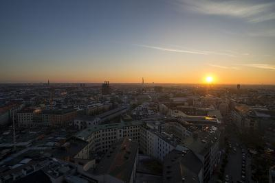 Sunset Above Munich, Germany-Benjamin Engler-Photographic Print