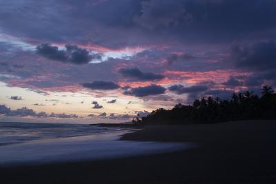 Sunset Above the Coast of the Osa Peninsula-Gabby Salazar-Photographic Print