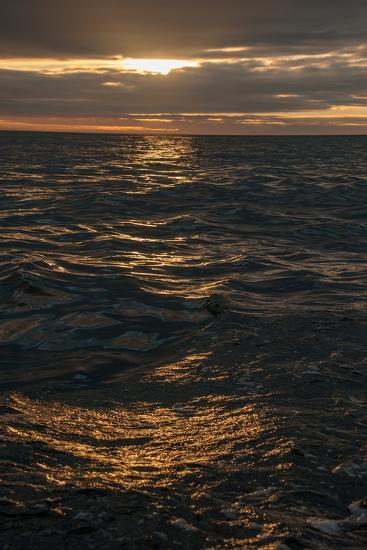 Sunset Above the Waters Off Isabela Island in the Galapagos-Karen Kasmauski-Photographic Print