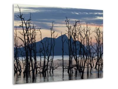 Sunset as Seen from the Coast of Bako National Park-Gabby Salazar-Metal Print