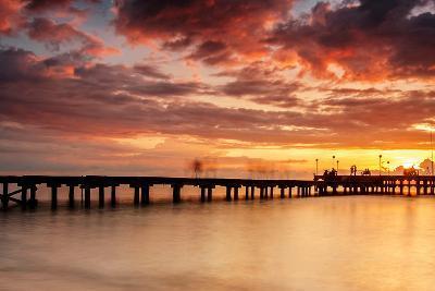 Sunset at Akkarena-Abdul Azis-Photographic Print