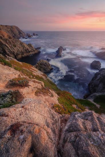 Sunset at Bodega Headlands-Vincent James-Photographic Print