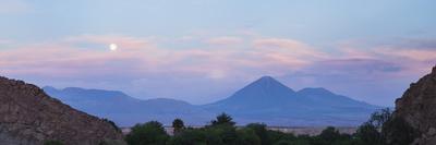 Sunset at Licancabur Volcano, Stratovolcanos in the Atacama Desert-Matthew Williams-Ellis-Photographic Print