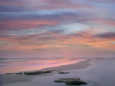 Sunset at Matanzas Beach, Florida, Usa-Tim Fitzharris-Photographic Print